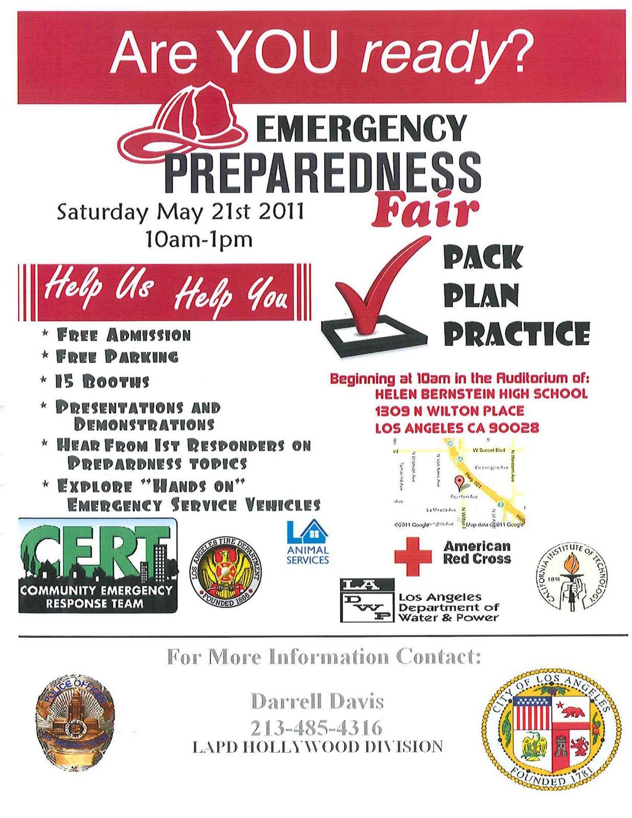 lacityorgcd13: Emergency Preparedness Fair this weekend