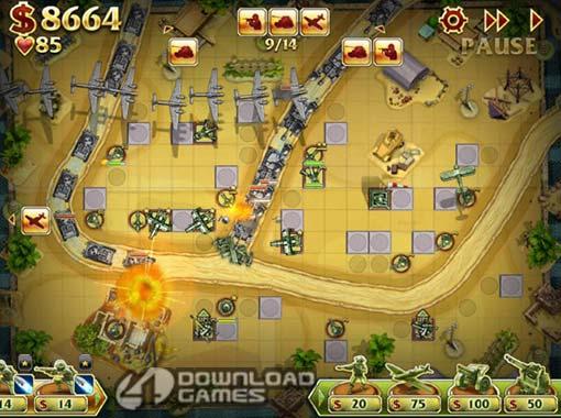 لعبة الدفاع الاستراتيجية Toy Defense 2