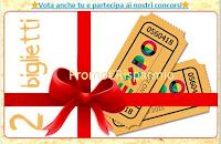 Logo Vota e vinci gratis 2 biglietti Expo 2015 ogni settimana