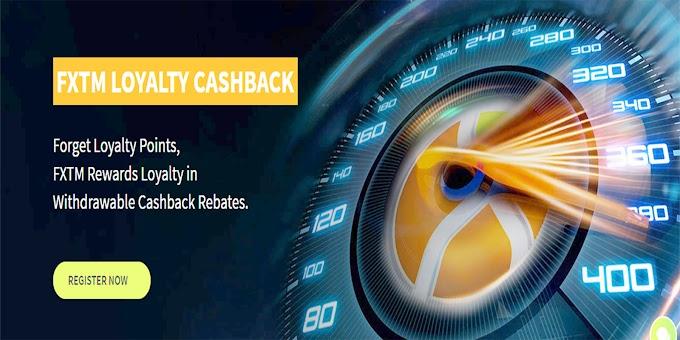 FXTM Loyalty Cashback Bonus