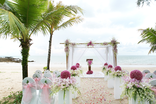 If The Ring Fits Asian Inspired Wedding: If The Ring Fits: BEACH WEDDING