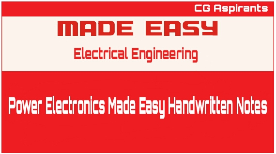 Power Electronics Made Easy Handwritten Notes