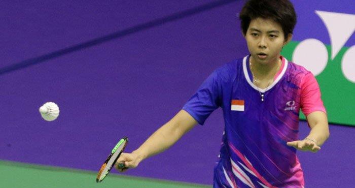 Yulia Yosephin Susanto Singapore Open 2018