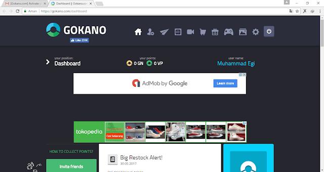 Cara Mendaftar di Gokano