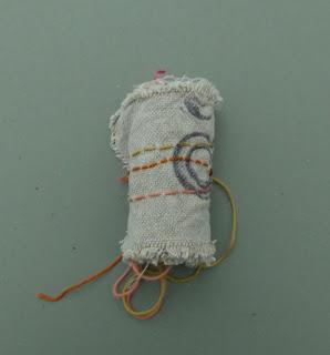 poésie visuelle  art textile Catherine Herbertz