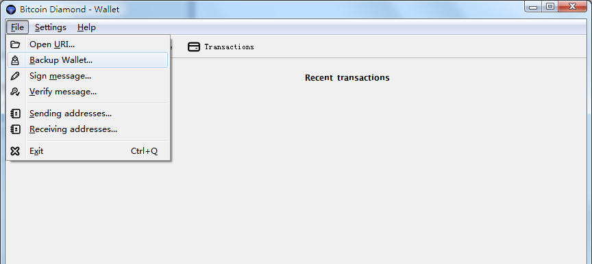 Bitcoin Diamond Full node Wallet (BCD) Client to Release