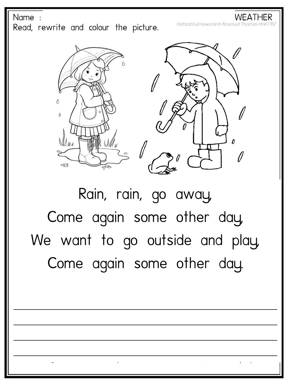 Cikgu Fieza (HHAT157): Cuaca