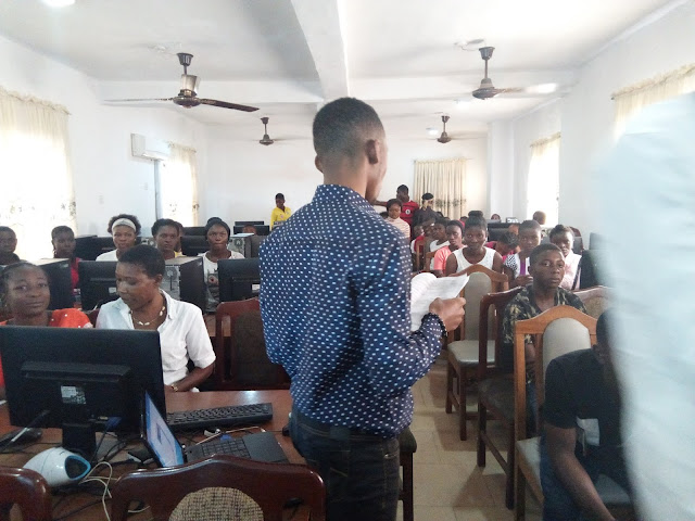 Over 100 Youths Recives Free ICT Training in Ohafia Abia State.
