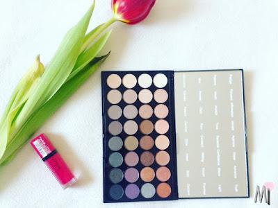 RECENZJA Makeup Revolution- Affirmation palette