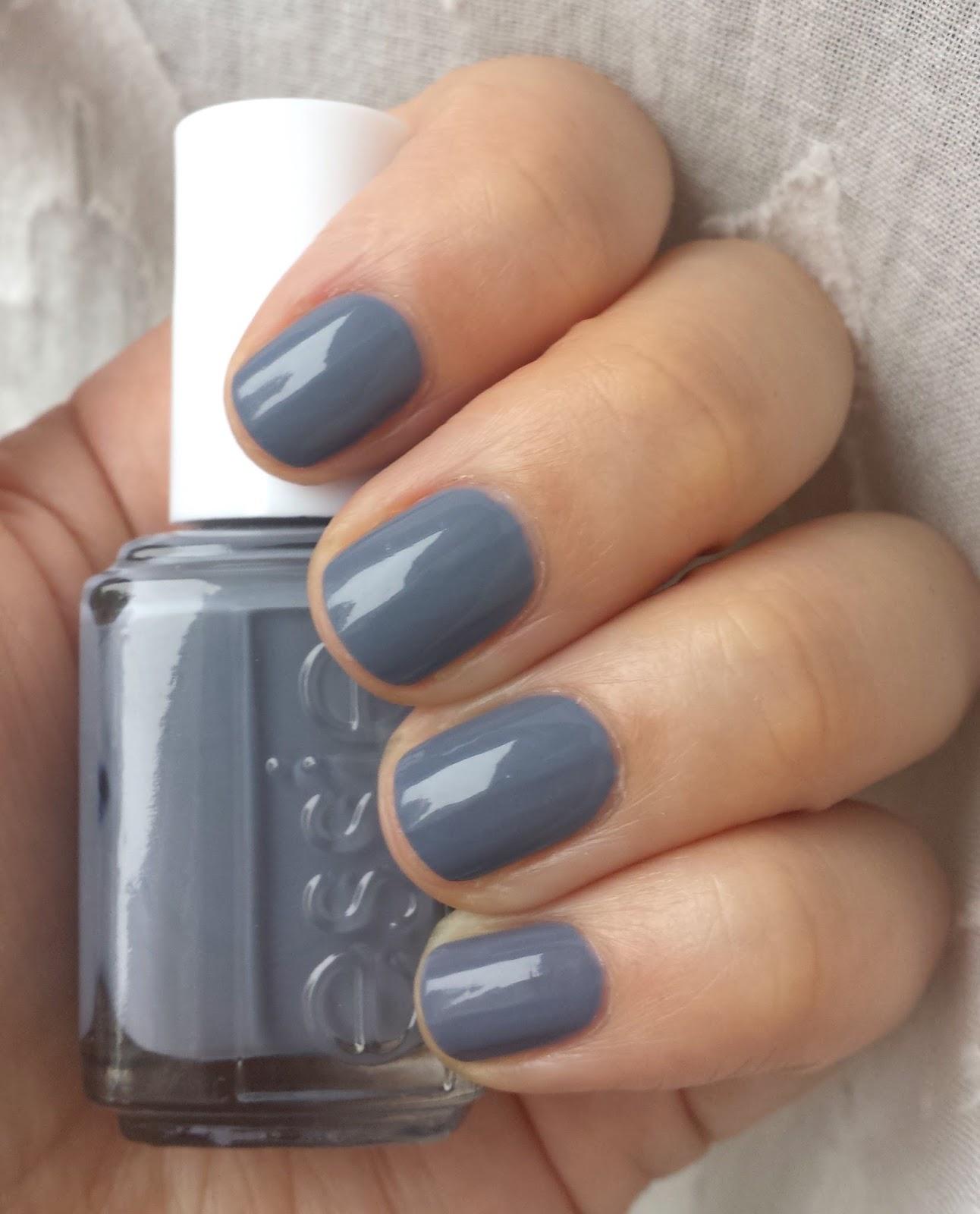 Polish or Perish: Birthday Grey - Essie Petal Pushers