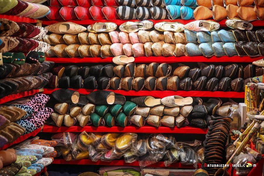 En un zoco de Marruecos