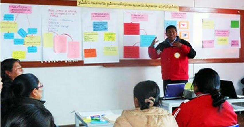 MINEDU aumenta el sueldo a profesores nombrados y contratados de educación básica alternativa (D. S. Nº 039-2018-EF) www.minedu.gob.pe