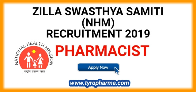 Pharmacist job at District Health and Family welfare Society – NHM Pharmacist Recruitment
