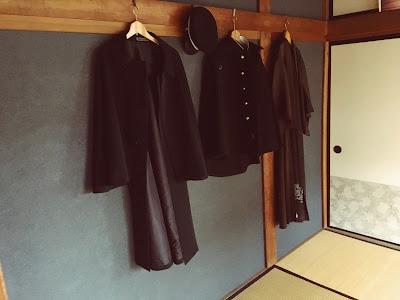 太宰治まなびの家 制服とコート