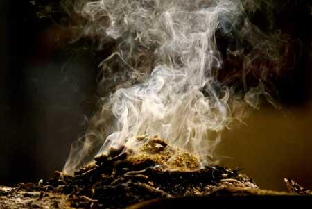 Resultado de imagem para fumaça de defumador