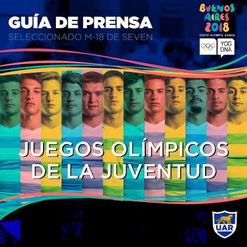 Guía de prensa del Seleccionado M-18 de seven que participará de los Juegos de la Juventud