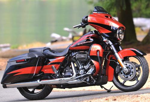 Harley Davidson CVO Street Glide 114 2017