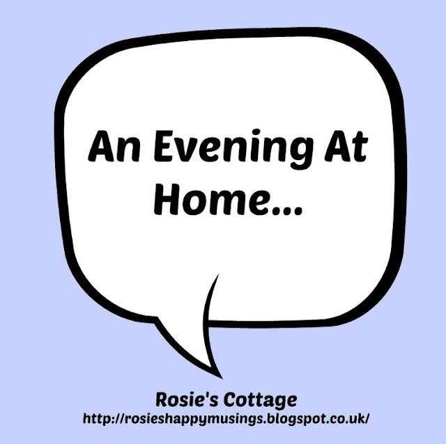 An evening at home