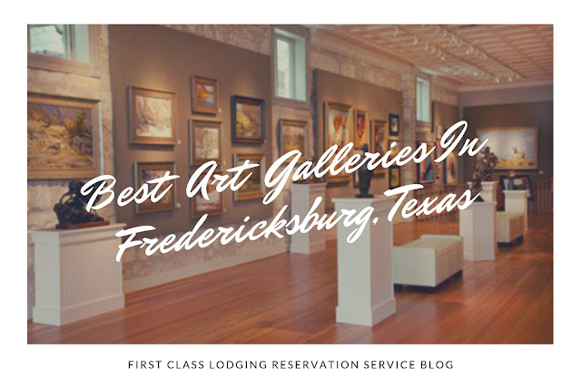 best art galleries in Fredericksburg blog cover image