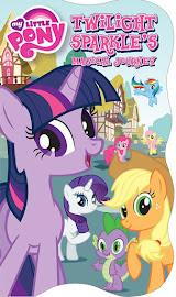 MLP Twilight Sparkle's Magical Journey Book Media