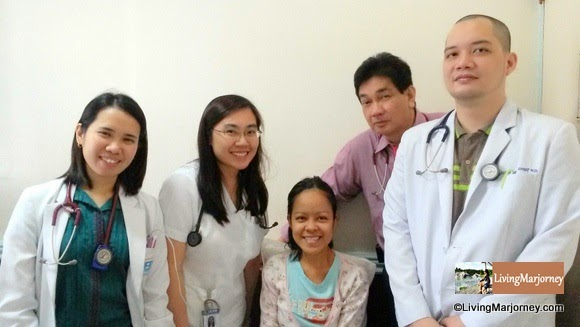 Dr. Romulo Ramos and the Medical Intern and Residents