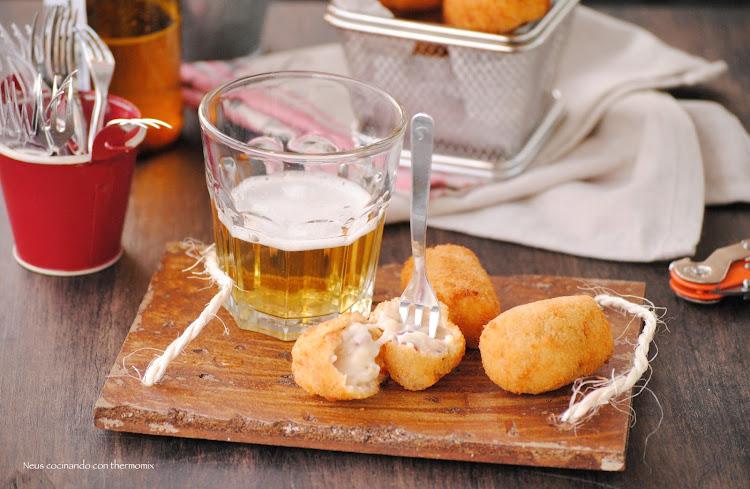 Croquetas de jamón ibérico de Alberto Chicote