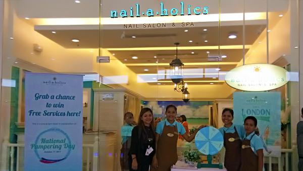 Nailaholics at SM Bacolod
