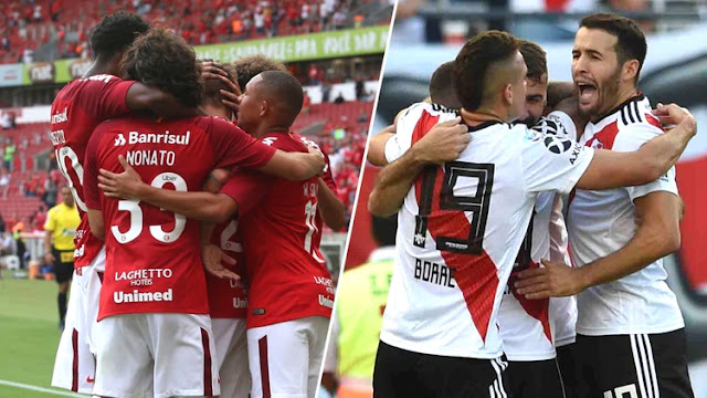 Inter vs River Plate en vivo online transmisión de la tercera fecha del grupo a de la copa conmebol libertadores.