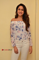 Actress Pragya Jaiswal Latest Pos in White Denim Jeans at Nakshatram Movie Teaser Launch  0021.JPG
