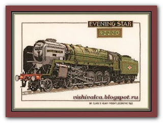 "Heritage Crafts Серия: Trains CES127 ""Evening Star"""