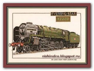 "Heritage Crafts Серия: Trains CES127 ""Evening Star"""