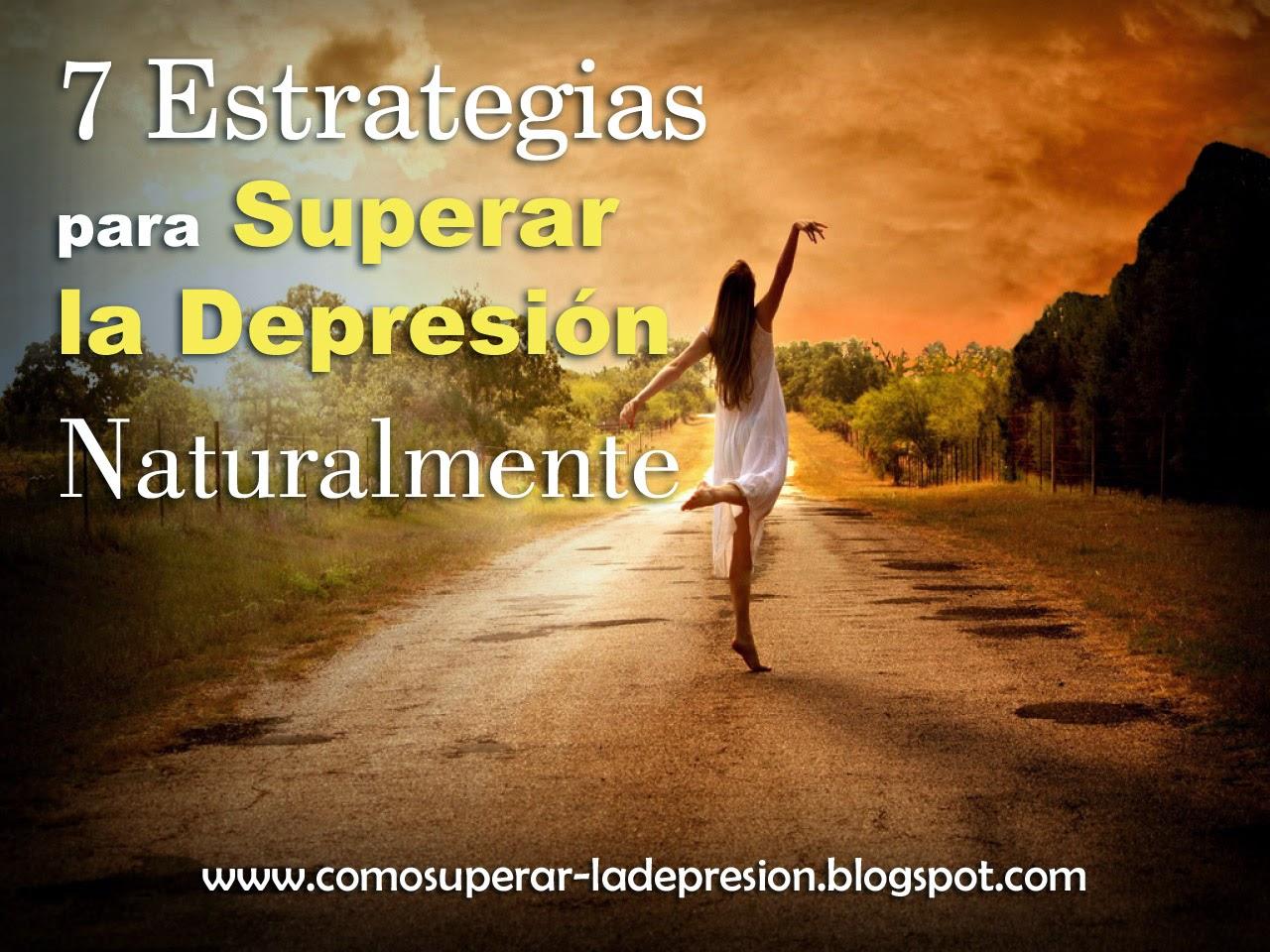 Como superar la depresi n naturalmente - Consejos para superar la depresion ...