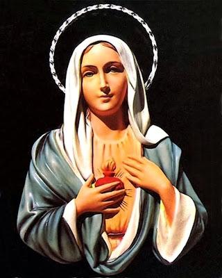 Imagen de la Virgen de las Lágrimas