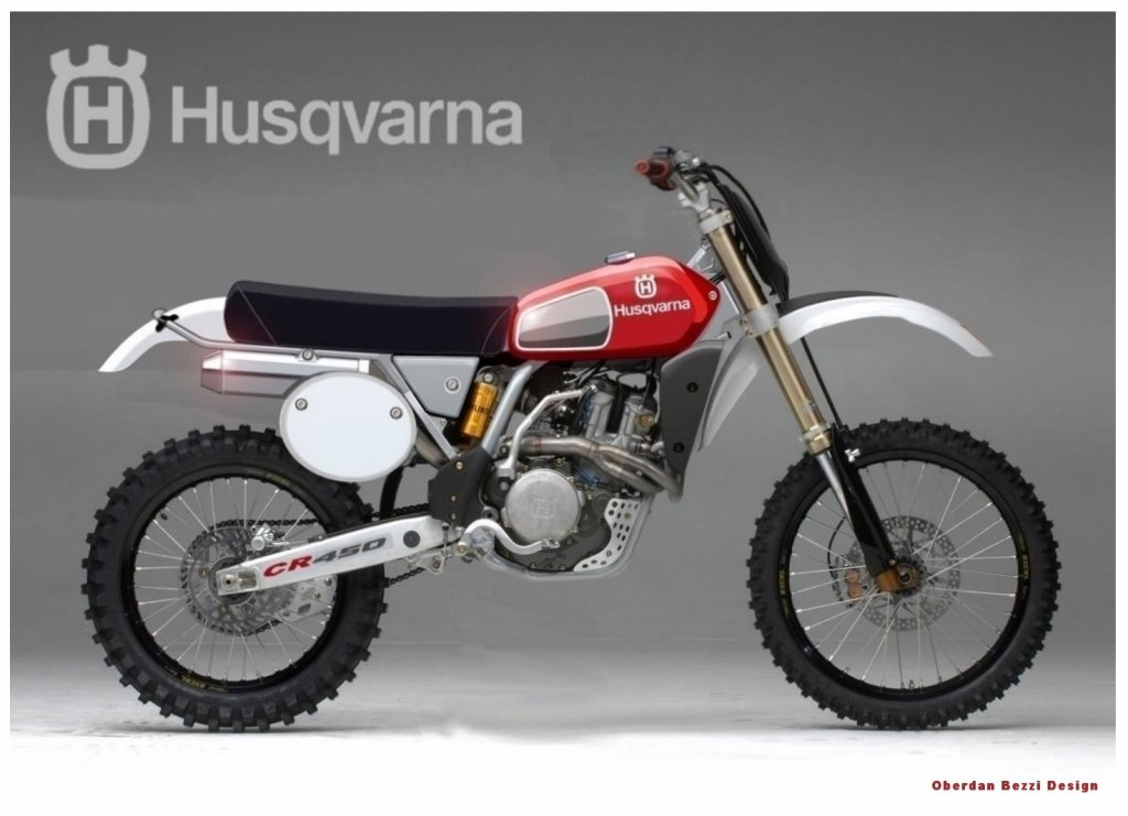 racing caf husqvarna 510 smr vintage by krugger motorcycle. Black Bedroom Furniture Sets. Home Design Ideas