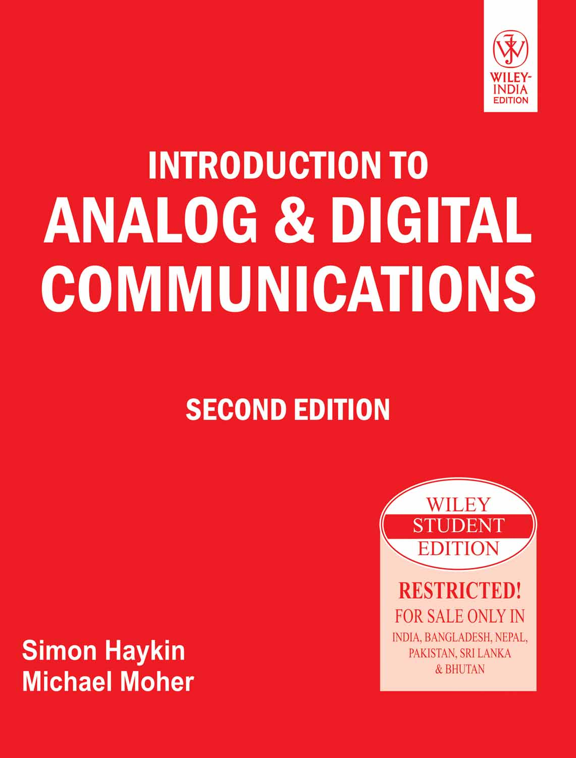 Analog Communication Books Pdf