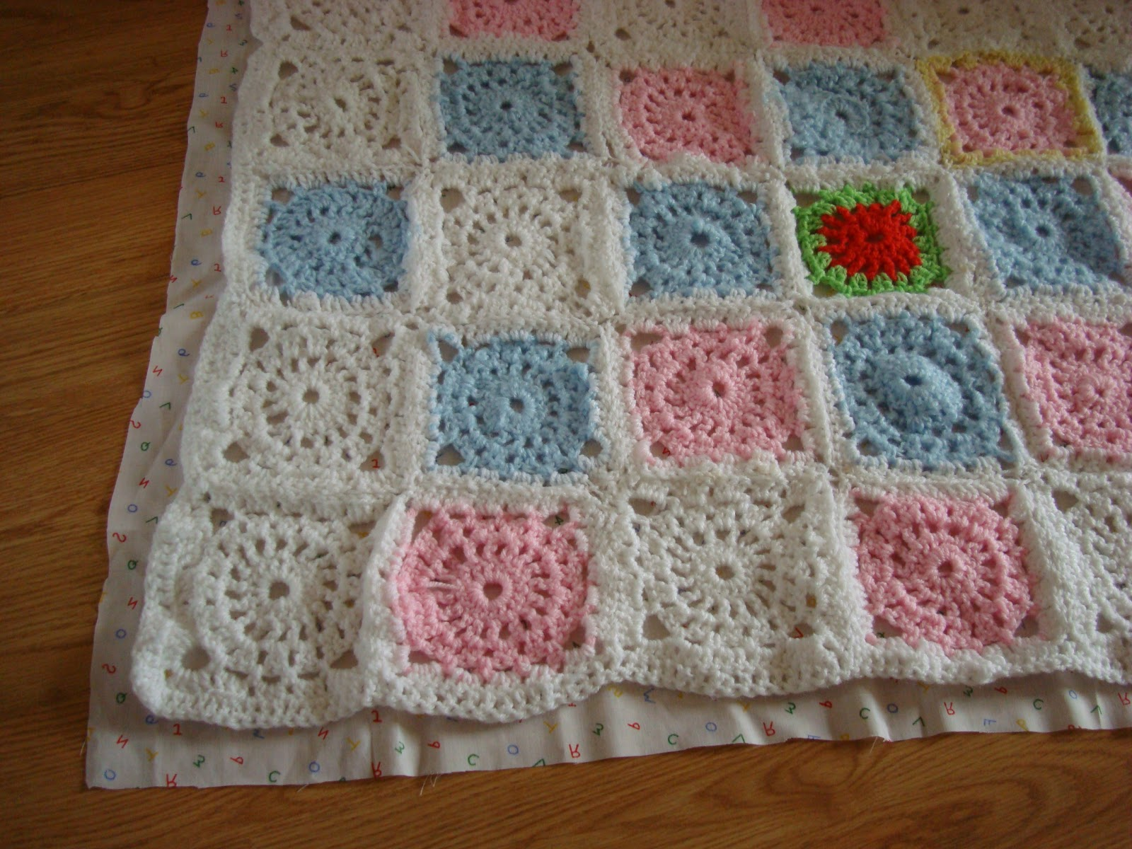 Crochet Blanket Using New Cake Yarn
