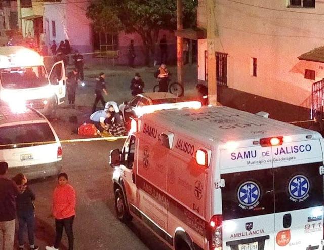 Ataque armado en Guadalajara deja 2 muertos y 4 heridos