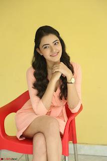 Rukshar Mir in a Peachy Deep Neck Short Dress 101.JPG