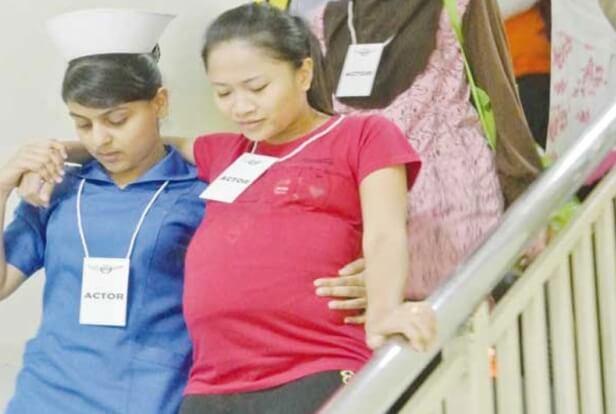 Hospital Sultanah Aminah TERBAKAR