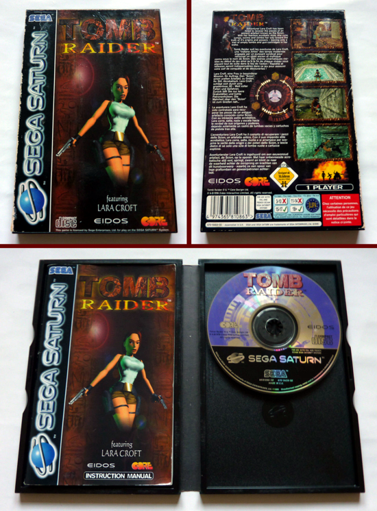 Tomb Raider 1996 box