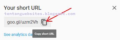 Cara memperpendek link shorten