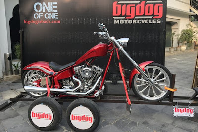 Just Launch 2016 Big Dog K9 Red Chopper 111 HD Images