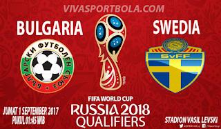 Prediksi Bulgaria vs Swedia 1 September 2017