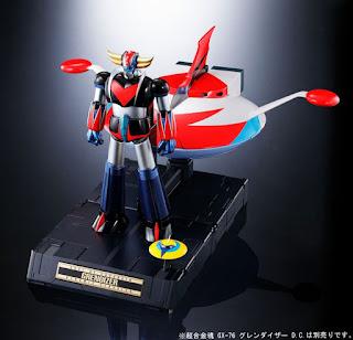 "Abierto pre-order de Soul of Chogokin: Spazer Set de ""Grendizer"" - Tamashii Nations"