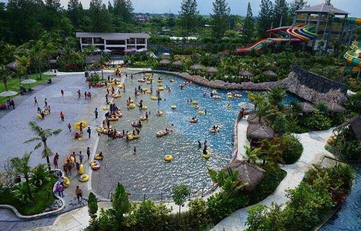 Harga Tiket Masuk Dan Lokasi Jogja Bay Waterpark Jejak Kenzie