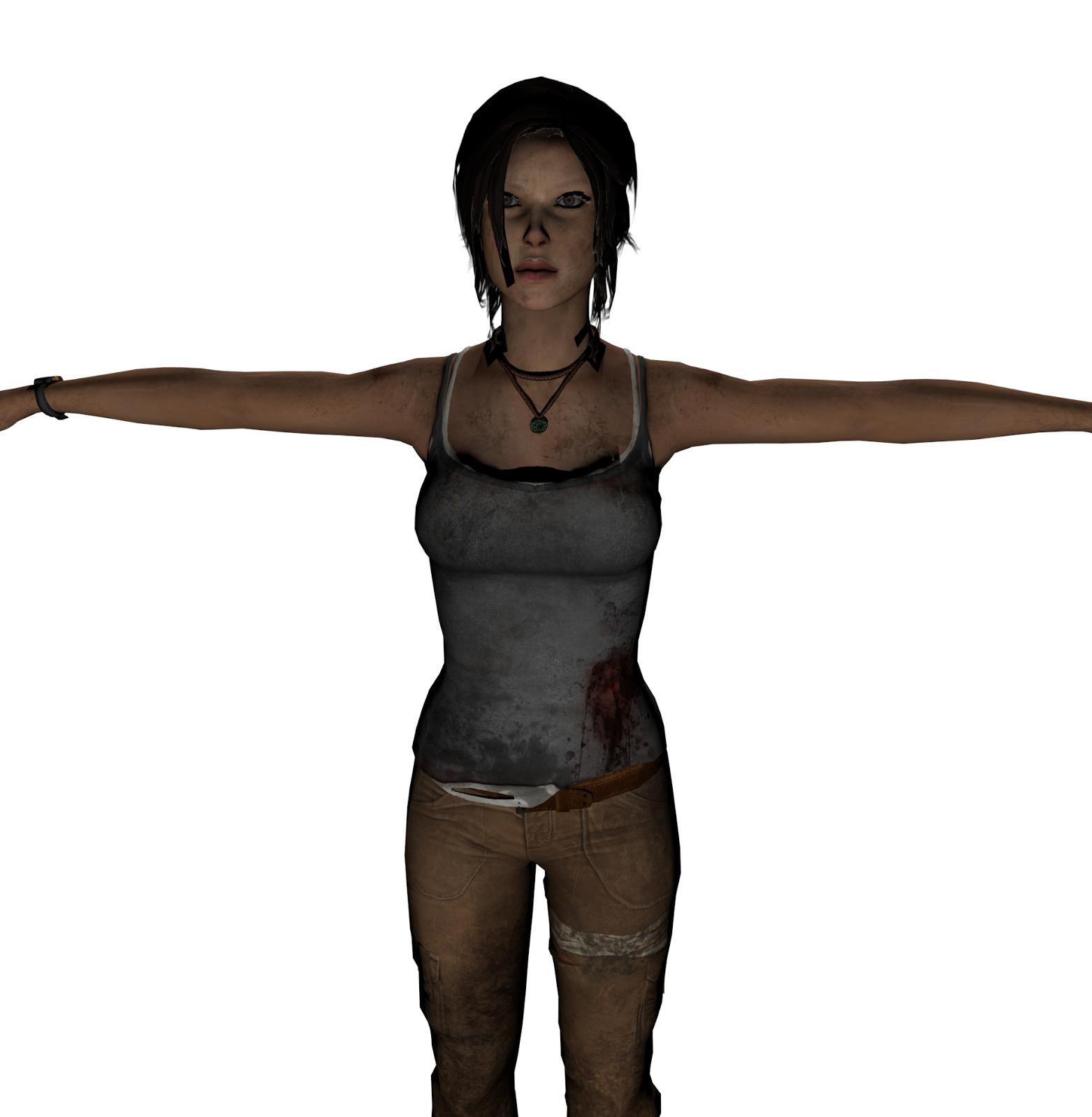 Lara Croft Tomb Raider 2013 In Unity 3d Vs Unreal Development Kit