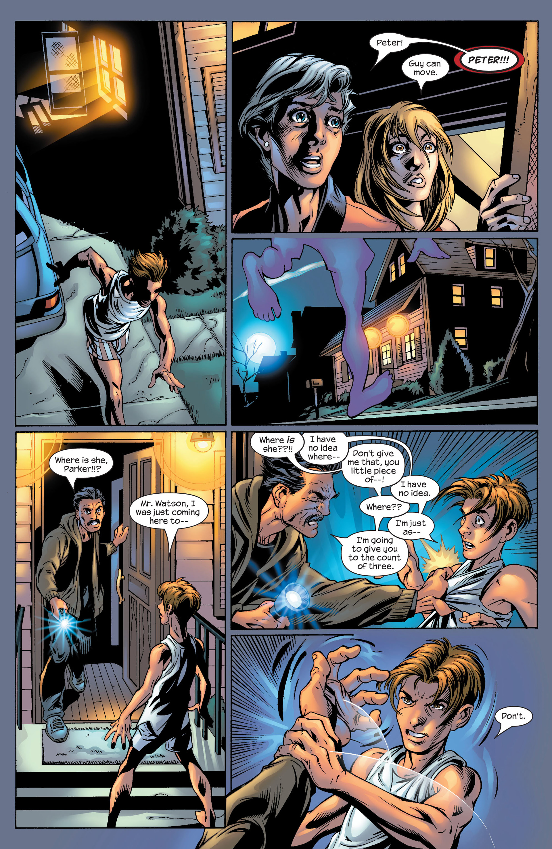 Read online Ultimate Spider-Man (2000) comic -  Issue #53 - 5