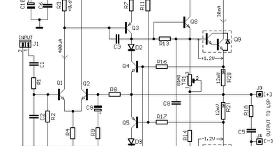 Wiring & diagram Info: 30W Power Audio Amplifier Circuit