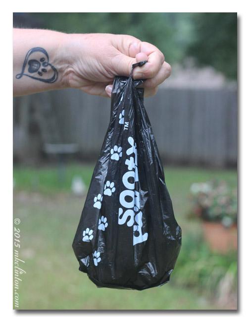 Sooty Paw Paw bag