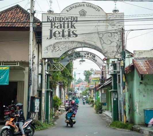 kampung batik jetis sidoarjo wisata sidoarjo jawa timur